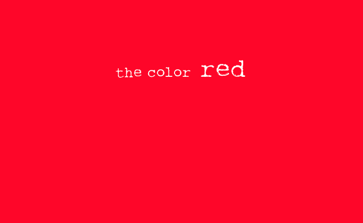 28 Amazing Quotes Using The Color Red Worlds Best Story